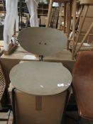 | 1x | COX & COX HIGH BACK COUNTER STOOL - GREY | UNCHECKED | RRP ?295 |