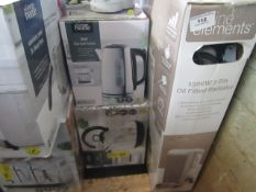 | 2X | FAST BOIL KETTLES| UNCHECKED RAW RETURNS | RRP £20 EACH | TOTAL LOT RRP £40 | LOAD REF