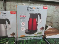 | 5X | DREW & COLE REDI KETTLE |UNCHECKED AND BOXED | NO ONLINE RESALE | RRP œ69.99 | TOTAL LOT