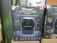 |5X | POWER AIR FRYER COOKER 5.7L | UNCHECKED & BOXED | NO ONLINE RE-SALE | SKU C5060541513068 | RRP