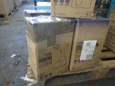5x Verti Steam Pro Vertical Ironing Systems - Unchecked & Boxed - RRP £29.99 Each - Total Lot RRP £
