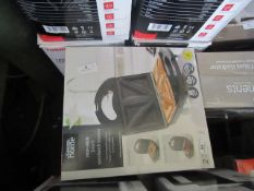 | 3X | 3 IN 1 SANDWICH TOASTERS | UNCHECKED RAW RETURNS | RRP £16 EACH | TOTAL LOT RRP £48 | LOAD