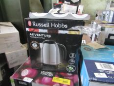 | 1X |RUSSELL HOBBS ADVENTURE POLISHED RAPID BOIL KETTLE | UNCHECKED RAW RETURNS | RRP £21 EACH |