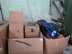 1x Pallet containing approx 15-20 items, including household electricals, fitness gear & more