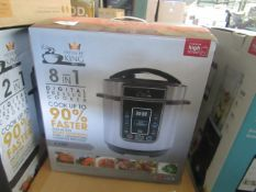 1x Pressure King 8 in 1 Digital Pressure Cooker - Unchecked & Boxed - RRP £50