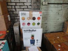 2x Items, 1 being Magic Bullet - RRP £50 & 1x Nutribullet 1000 Series Blender - RRP £99 Both