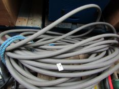 Commercial grade high pressure hose - ( Length unknown ) - Unchecked & No Packaging.
