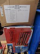 1x CL CHT634 TOOL CHEST 1000 This lot is a Machine Mart product which is raw and completely