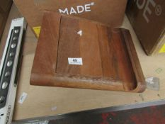  1X   MADE.COM GALLI CABIN SUITCASE   LOOKS UNUSED (NO GUARANTEE) AND BOXED   RRP œ59  