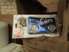 Approx 250 the vamps speaker purse - new & packaged.