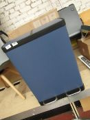   1X   MADE.COM COLTER SOFT CLOSE DOUBLE RECYCLING PEDAL BIN 30L   NO VISIBLE DAMAGE & BOXED   RRP
