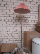 1 x Made.com Gaby Pleated Floor Lamp Brass & Pink RRP œ89 SKU MAD-FLPGAB004PNK-UK TOTAL RRP œ89 This