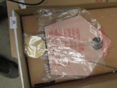 1 x Made.com Lark Cuckoo Clock Blush Pink & Brass RRP œ85 SKU MAD-CLKLAR002PNK-UK TOTAL RRP œ85 This