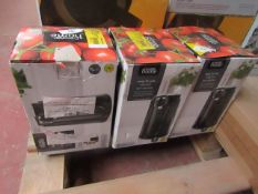   3X   EASY TO USE ELECTRIC CAN OPENER   UNCHECKED & BOXED   NO ONLINE RESALE   SKU