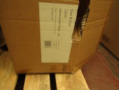| 1X | COX AND COX INDUSTRIAL SHELF TROLLEY | UNCHECKED AND BOXED | RRP CIRCA œ307 |