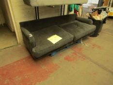 | 1X | SWOON 3 SEATER SOFA | MISSING BACK CUSHIONS | RRP ?- |