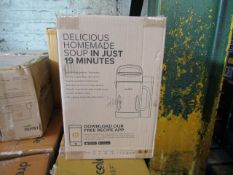   5X   DREW AND COLE SOUP CHEF   BOXED AND UNCHECKED   NO ONLINE RESALE   SKU C5060541516809  