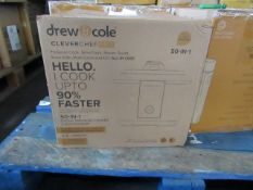 1x Drew & Cole Clever Chef Pro 50 in 1, 4.8L Capacity - Unchecked Raw Return - RRP £129.99