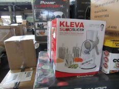 2x Kleva Sumo Slicer - Unchecked & Boxed - RRP £25 - lot RRP £50