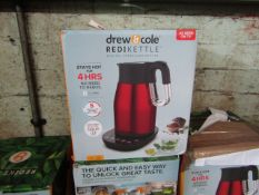   5X   DREW & COLE REDI KETTLE  UNCHECKED AND BOXED   NO ONLINE RESALE   RRP œ69.99   TOTAL LOT