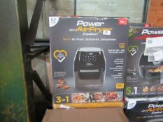  5X   POWER AIR FRYER COOKER 5.7L   UNCHECKED & BOXED   NO ONLINE RE-SALE   SKU C5060541513068   RRP