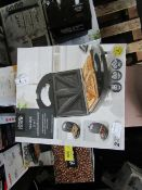  3X   3 IN 1 SANDWICH TOASTERS   UNCHECKED RAW RETURNS   RRP £16 EACH   TOTAL LOT RRP £48   LOAD