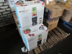 3x Nutri Bullet Balance Smart Blenders, 9 Piece set - Unchecked & Boxed - RRP £149.99 - Total Lot