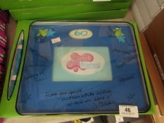 """1 x Splosh Signature """"60"""" Picture Frame. Write a Message on the frame with the Pen supplied. New &"""