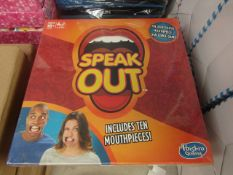 1 x Hasbro Speak Out Adult Game new & packaged