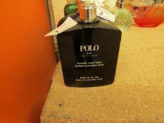 Ralph Lauren Polo Black.125ml. 60% Full. Missing the spray cap RRP £44.99