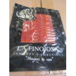 10 x La Finojosa 100g Packets Hand Carved Iberico Ham BB 7.3.22 RRP £24.50 per packet on Amazon