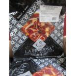 10 x La Finojosa 100g packets SlicedIberian cured ham in slices. BB 18.3.22 RRP £16.25 per packet