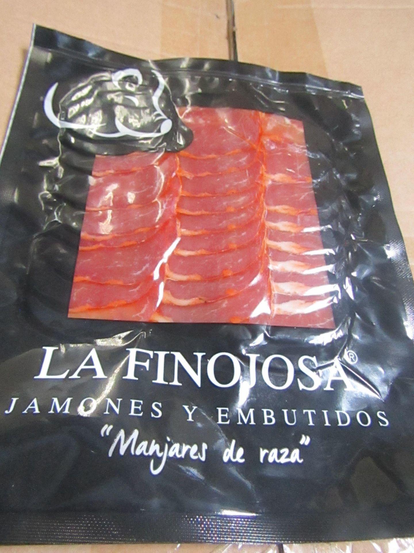 5 x La Finojosa 100g Packets Hand Carved Iberico Ham BB 7.3.22 RRP £24.50 per packet on Amazon