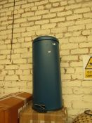   1X   MADE.COM JOSS 30L DOMED PEDDLE BIN   YELLOW   UNCHECKED & BOXED   RRP £39  