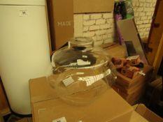   1x   MADE.COM LAMOR LAMP SHADE   LOOKS UNUSED (NO GUARANTEE) AND BOXED   RRP £39  