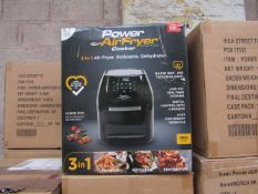 | 2X | POWER AIR FRYER 5.7L | UNCHECKED & BOXED | NO ONLINE RE-SALE | SKU C5060541513068 | RRP £