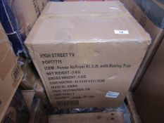 | 1X | POWER AIR FRYER XL 3.2L WITH BAKING TRAY | UNCHECKED & BOXED | NO ONLINE RESALE | SKU
