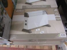 | 4X | FINE ELEMENTS 2000W CONVECTOR HEATER | UNCHECKED & BOXED | NO ONLINE RESALE | SKU