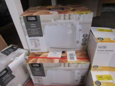 | 3X | 2 SLICE TOASTER | UNCHECKED & BOXED | NO ONLINE RESALE | SKU C054781630449 | LOAD REFERENCE