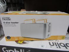 | 1X | 4 SLICE TOASTER | UNCHECKED & BOXED | NO ONLINE RESALE | SKU C057172148790 | LOAD REFERENCE