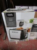 | 1X | STAINLESS STEEL 2 SLICE TOASTER | UNCHECKED & BOXED | NO ONLINE RESALE | SKU