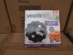 | 1X | BOX CONTAINING 20 UNITS OF 14 VEGGIE BULLET RIBBON BLADES | NEW AND BOXED | NO ONLINE