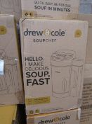 | 6X | DREW AND COLE SOUP CHEF | UNCHECKED & BOXED | NO ONLINE RESALE | SKU C5060541516809 | RRP £