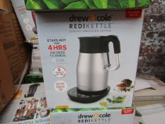 | 4X | DREW & COLE REDI KETTLE | UNCHECKED AND BOXED | NO ONLINE RESALE | RRP £69.99 | TOTAL LOT RRP