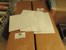Box of 1000 Small envelopes - new & Boxed.