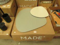 1 x Made.com Nyla Nesting Tables Tonal Grey RRP £99 SKU MAD-TBLNYL003GRY-UK TOTAL RRP £99 This lot