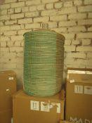 1 x Made.com Havana Seagrass Laundry Basket Mustard Yellow RRP £79 SKU MAD-AP-STOHAV002YEL-UK