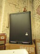 1 x Made.com Colter 60L Soft Close Double Recycling Pedal Bin X2 30L Matt Black RRP £69 SKU MAD-AP-