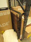 1 x Made.com MADE Essentials Moss 3 Tier Clothes Airer Black RRP £20 SKU MAD-AP-UTYMOS010BLK-UK