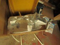 16x Smith & Locke - Series 3 Stainless Steel Door Closer Accessory Pack - Unused & Packaged.